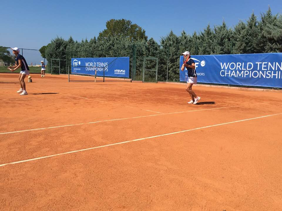 tennis action in croatia